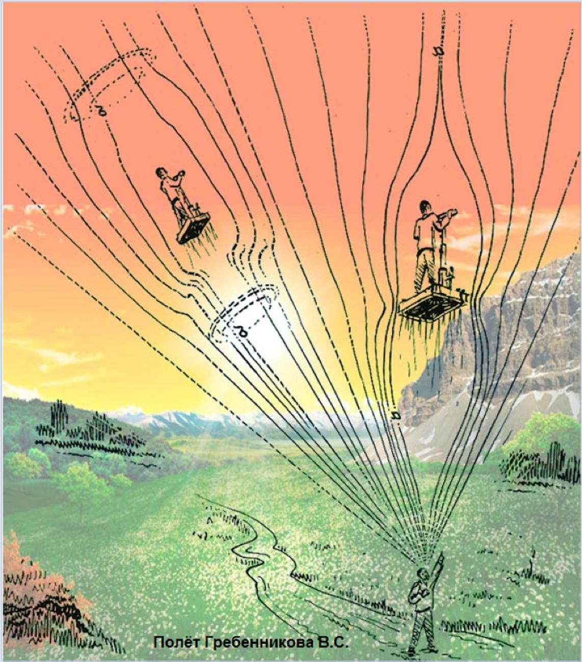 Летающая платформа гребенникова своими руками детальные